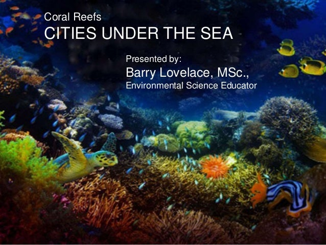 Barry Lovelace's Coral Reef Presentation