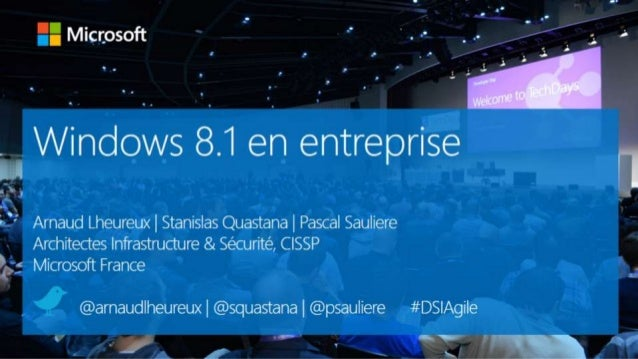 Windows 8.1 en entreprise