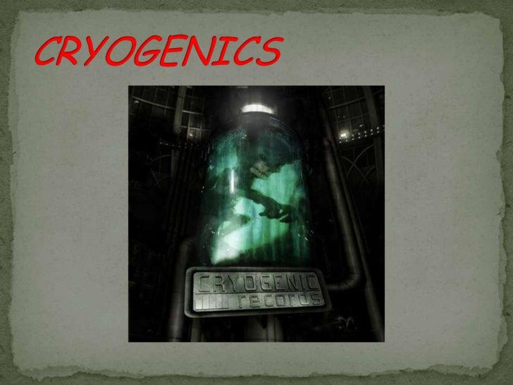 CRYOGENICS<br />