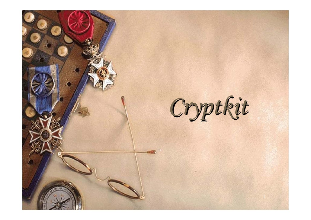 Crypkit 1