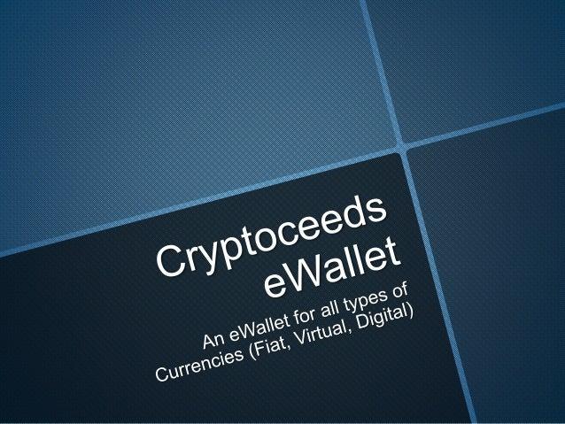 Cryptoceeds e wallet