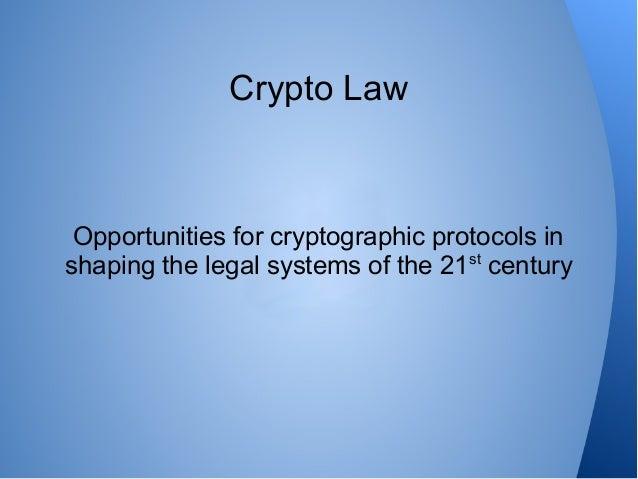 Crypto Law