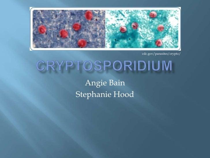 cdc.gov/parasites/crypto/   Angie BainStephanie Hood