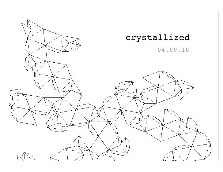 crystallized      04.09.10