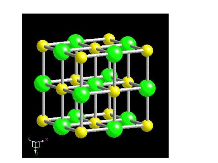 Figure 1.4. Fluorite, showing very good (almost perfect) four-directional octahedral cleavag