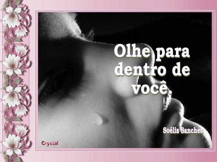 Crystal_ Soélis Sanches_ Olhe para dentro de você