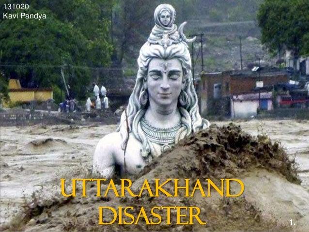 Uttarakhand disaster - man made causes