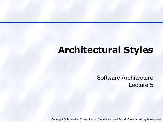 Cs 1023 lec 6 architecture (week 1)