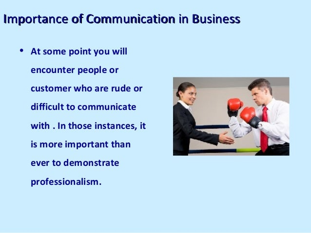 Business communication report structure