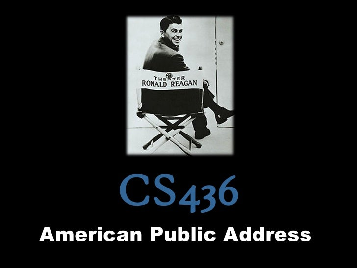 CS436American Public Address