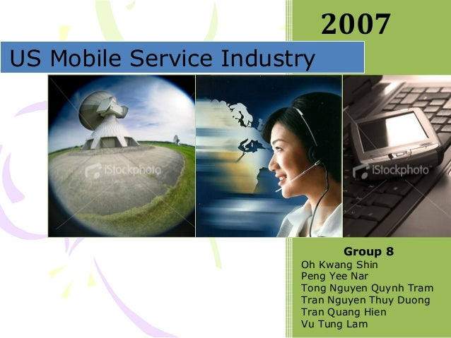 CS5261 Group 8 Presentation - US Mobile Industry
