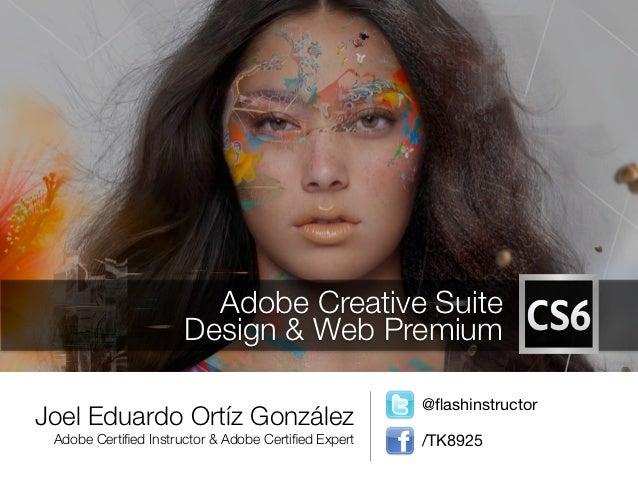 Adobe Creative Suite                      Design & Web Premium                                                     @flashin...