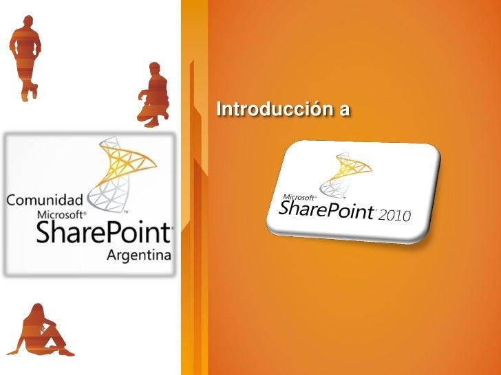 CSA -  Intro SharePoint 2010