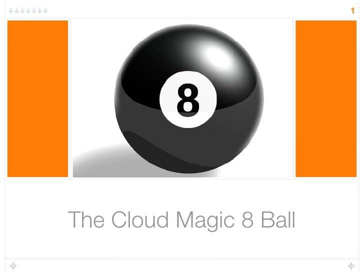 1     The Cloud Magic 8 Ball