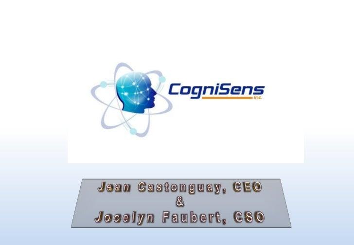 CogniSens Athletics Presentation - GPS Texas