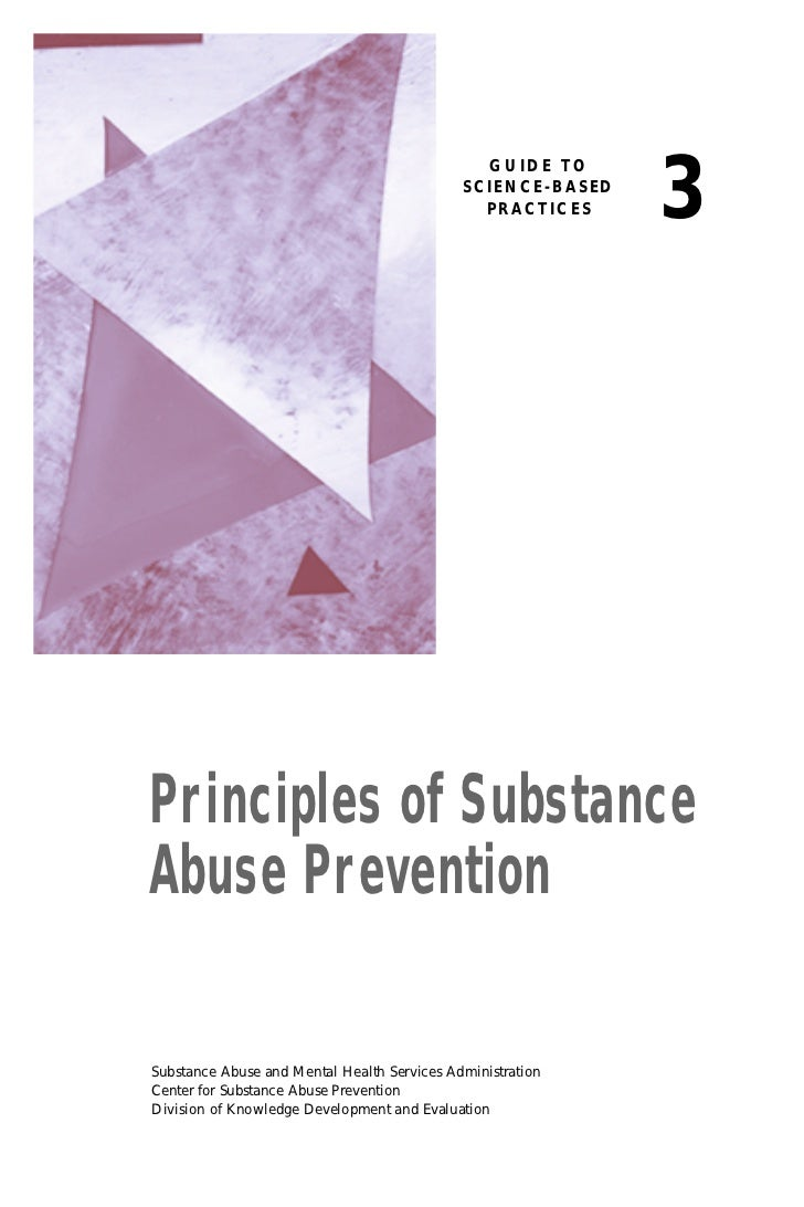 CSA Principles of Prevention