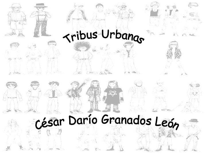 Tribus Urbanas César Darío Granados León