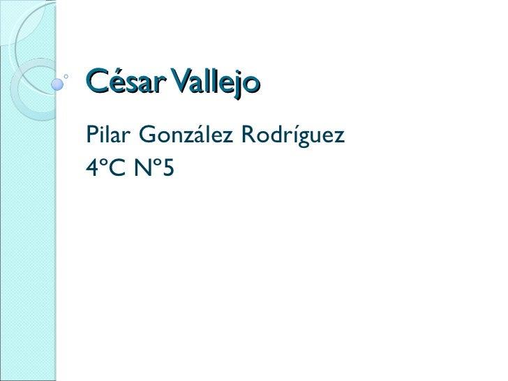 César vallejo