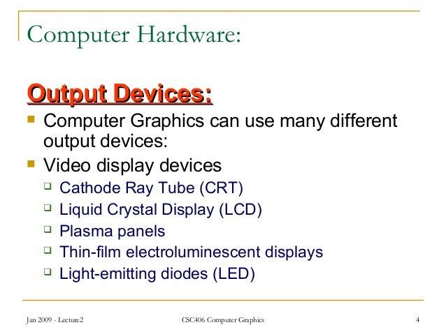 Video Display Devices Video Display Devices