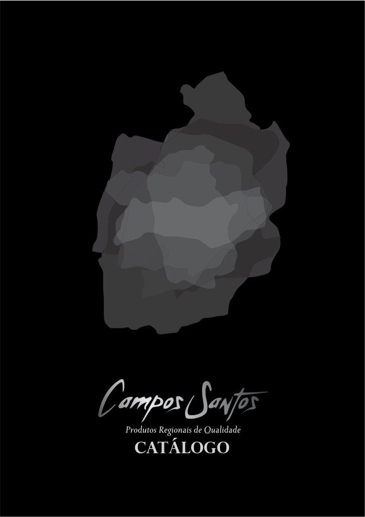 Campos Santos- Catálogo de Produtos