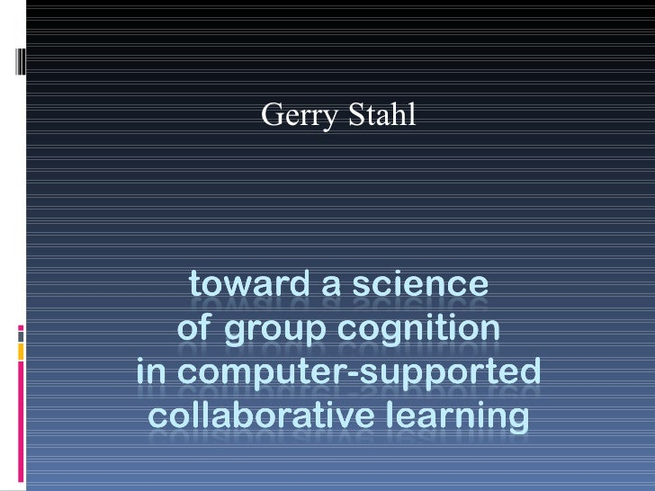 Gerry Stahl