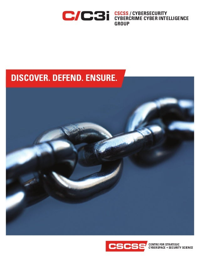 CYBERSECURITY CYBERCRIME CYBER INTELLIGENCE GROUP