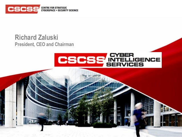 CSCSS CYBER INTELLIGENCE SERVICES