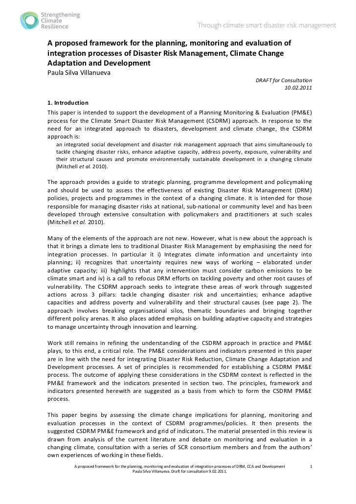 CSDRM.PM&E draft for consultation 10-02-11