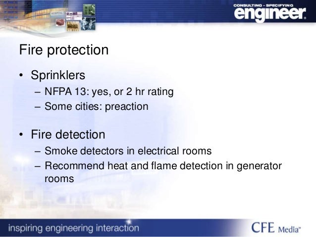 Electrical Room Fire Rating