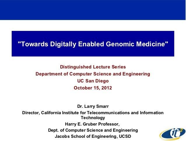 Towards Digitally Enabled Genomic Medicine