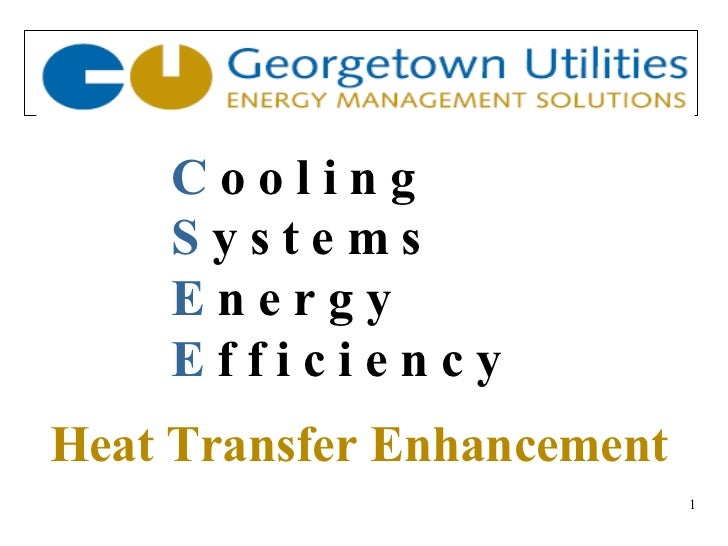Restoration of Energy Efficiency In Cooling Systems