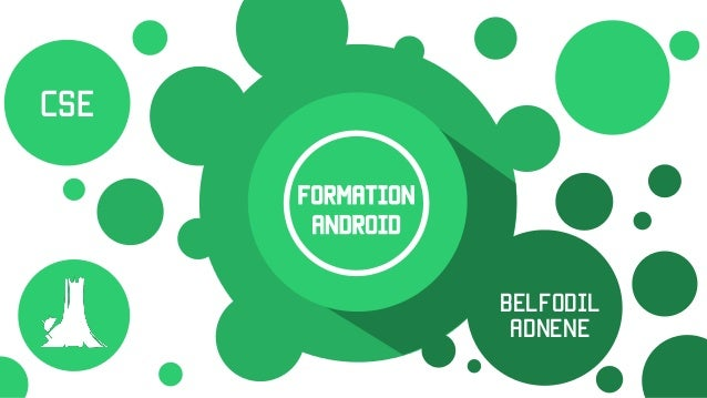 Formation Android Belfodil AdnEne CSE