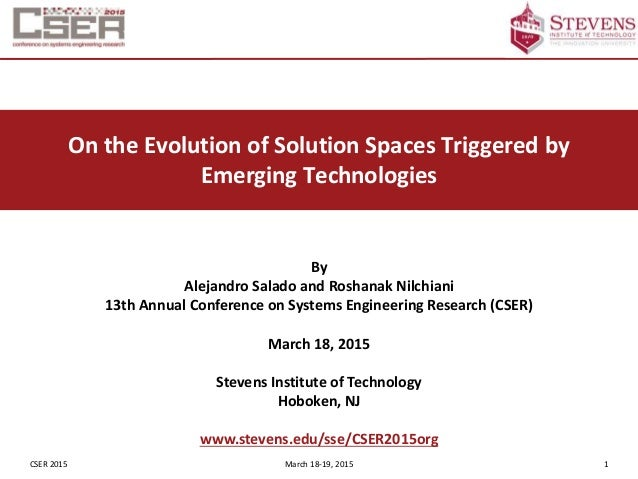 emerging technology paper Read this essay on emerging technologies come browse our large digital warehouse of free sample essays get the knowledge you need in order to pass your classes and more.
