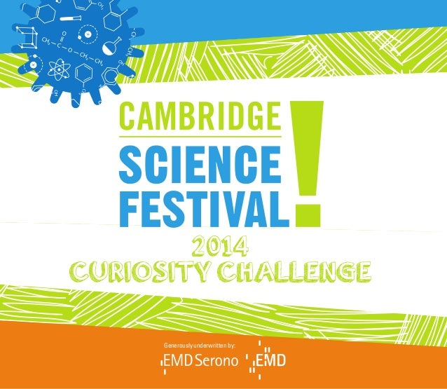 Curiosity Challenge Book 2014 - Cambridge Science Festival