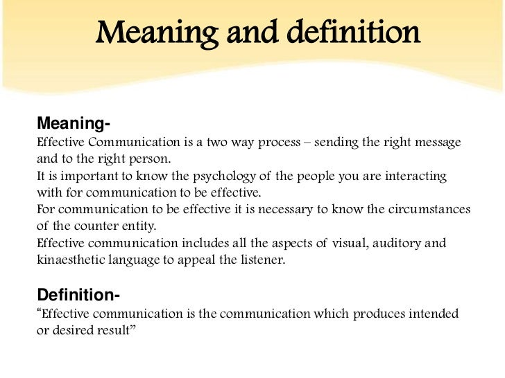 Communication in the Workplace essay