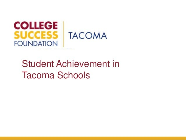 College Success Foundation - Tacoma