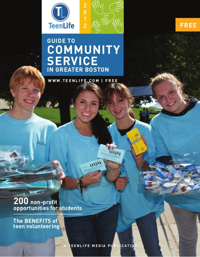 TeenLife Boston: Guide to Community Service 2012