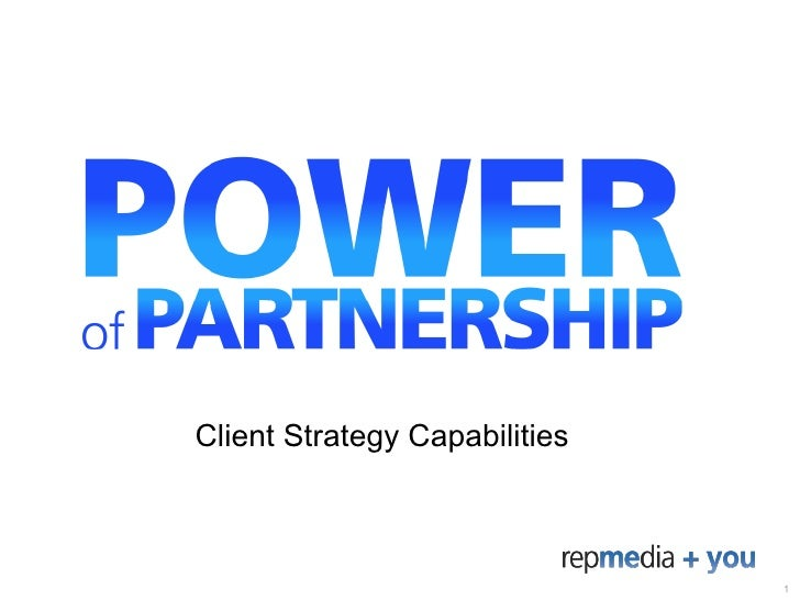 Client Strategy Capabilities