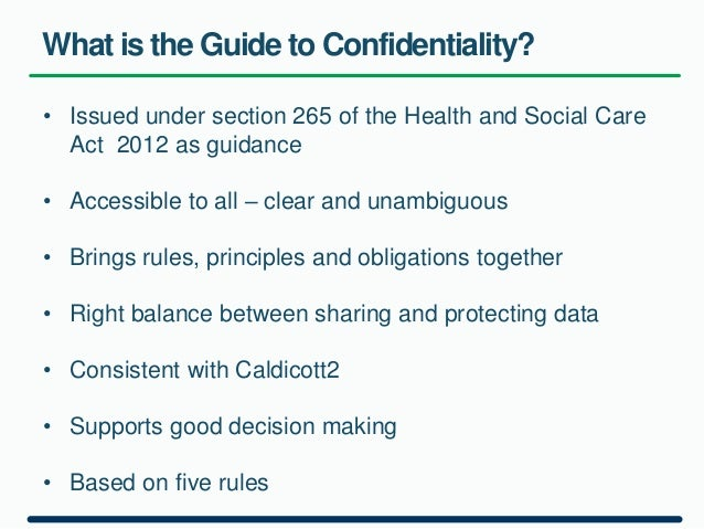 confidentiality in adult social care Confidentiality confidentiality is keeping a confidence between the client and the practitioner which is an important part of good care practice.