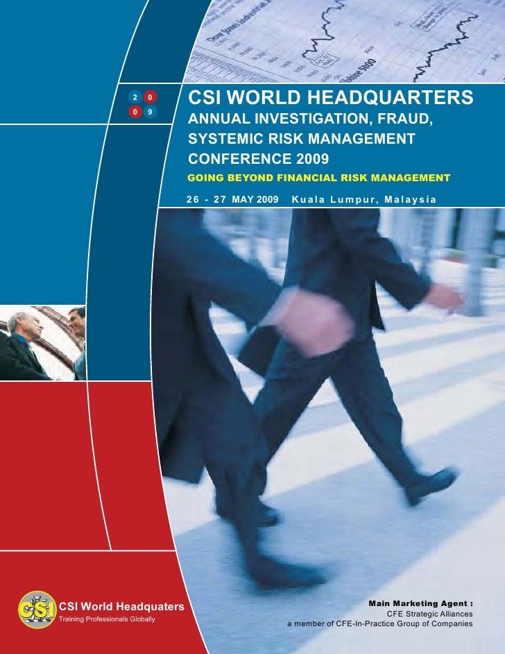 CSI WORLD HEADQUARTERS                             0                        2                        0    9               ...