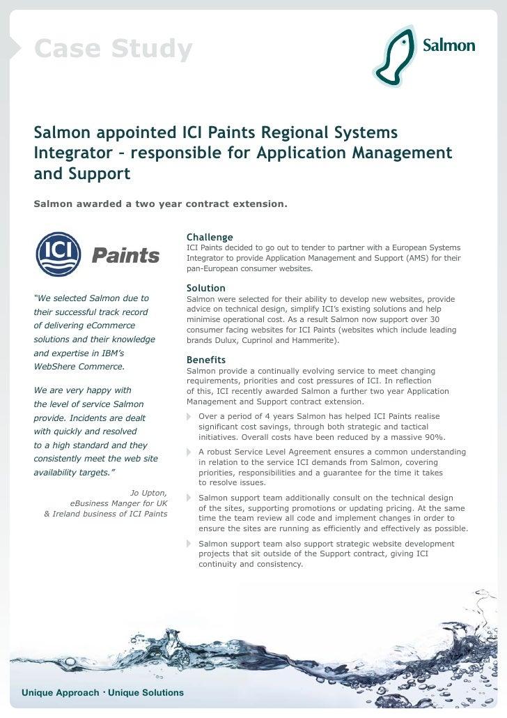 ICI eCommerce case study