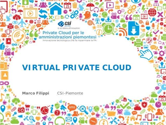 Private Cloud per le amministrazioni piemontesi - Filippi