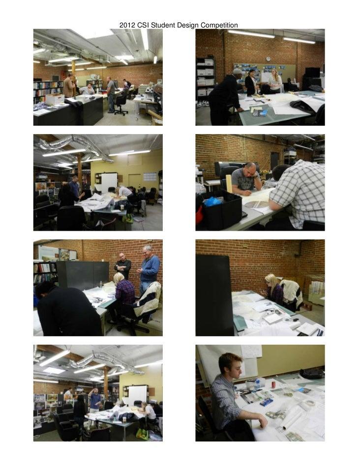 CSI Student Design Competition Photos