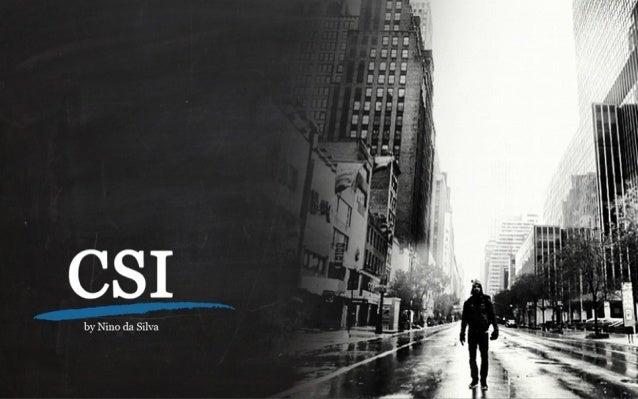 CSI - Janeiro a Junho - 2013