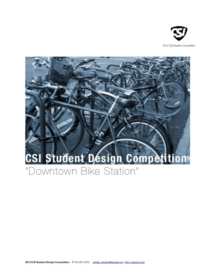 CSI Student Design Competition 2012