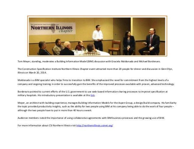 CSI Northern Illinois BIM Presentation 20 March 2014
