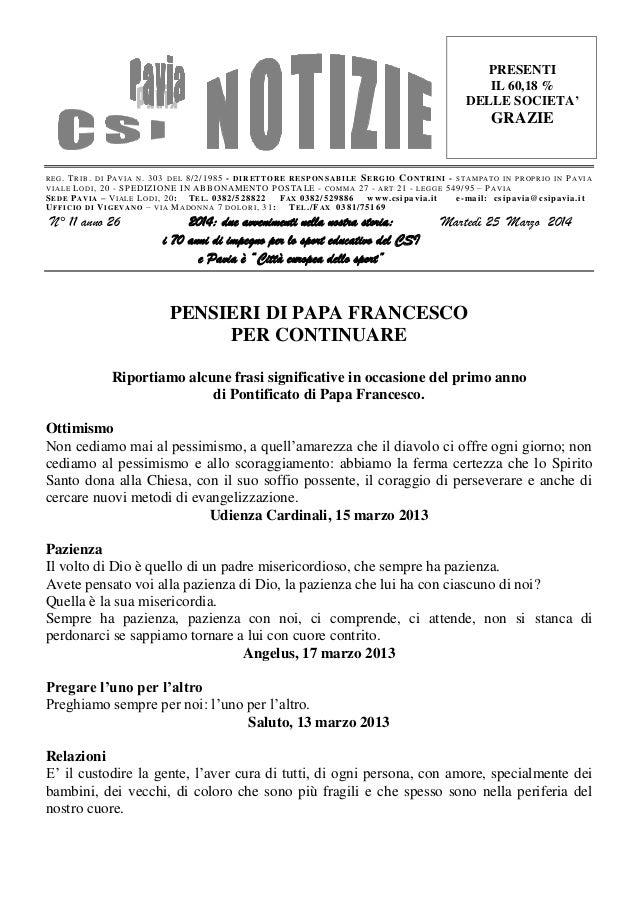 Csi pavia notizie_n_11_del_25.03.14