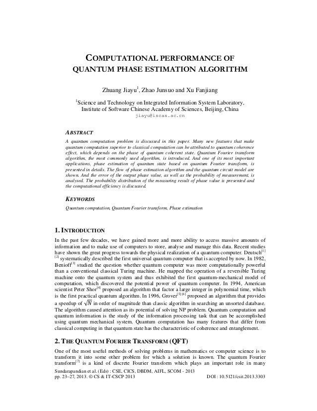 Sundarapandian et al. (Eds) : CSE, CICS, DBDM, AIFL, SCOM - 2013pp. 23–27, 2013. © CS & IT-CSCP 2013 DOI : 10.5121/csit.20...