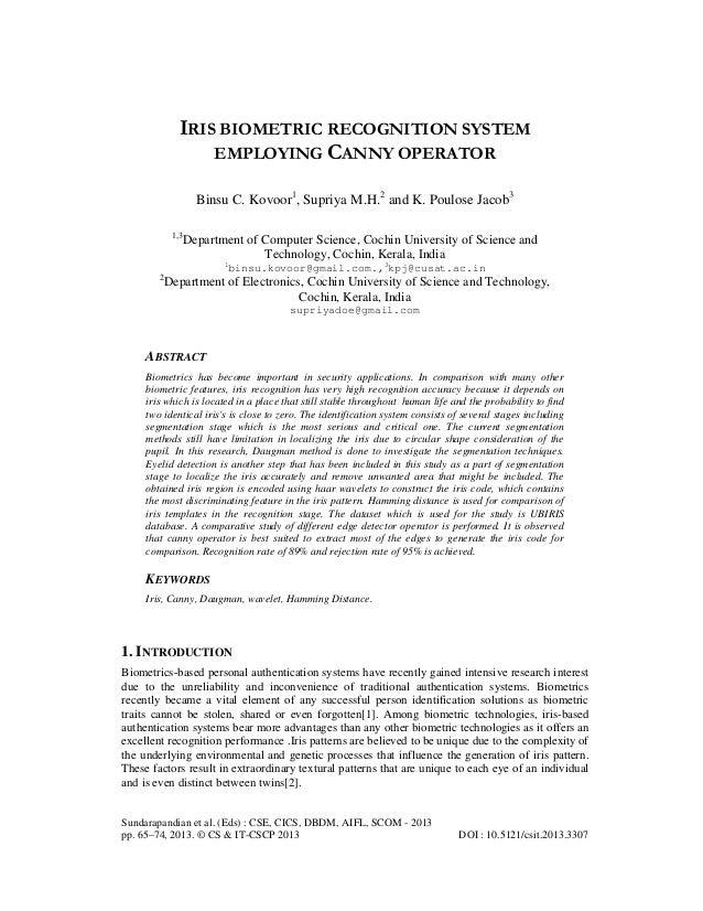 Sundarapandian et al. (Eds) : CSE, CICS, DBDM, AIFL, SCOM - 2013pp. 65–74, 2013. © CS & IT-CSCP 2013 DOI : 10.5121/csit.20...