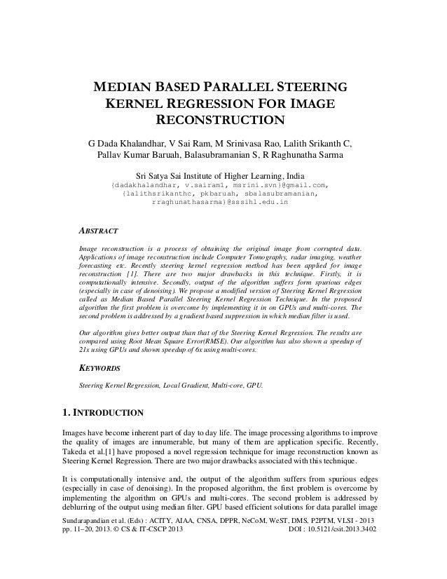 Sundarapandian et al. (Eds) : ACITY, AIAA, CNSA, DPPR, NeCoM, WeST, DMS, P2PTM, VLSI - 2013 pp. 11–20, 2013. © CS & IT-CSC...